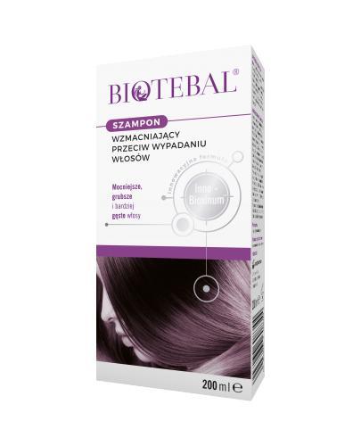 BIOTEBAL Szampon przeciw wypadaniu włosów - 200 ml - Apteka internetowa Melissa