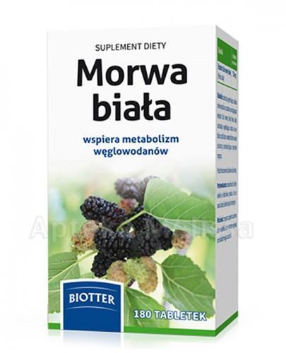BIOTTER Morwa Biała - 180 tabl.
