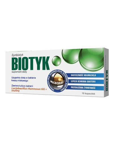 BIOTYK 400 mg - 10 kaps. - Apteka internetowa Melissa