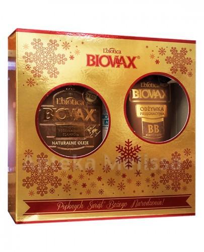BIOVAX NATURALNE OLEJE Intensywnie regenerujący szampon - 200 ml + BB Odżywka - 200 ml - Apteka internetowa Melissa
