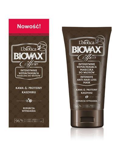 BIOVAX COFFEE Intensywnie wzmacniająca maseczka do włosów - 150 ml - cena, opinie, właściwości  - Drogeria Melissa