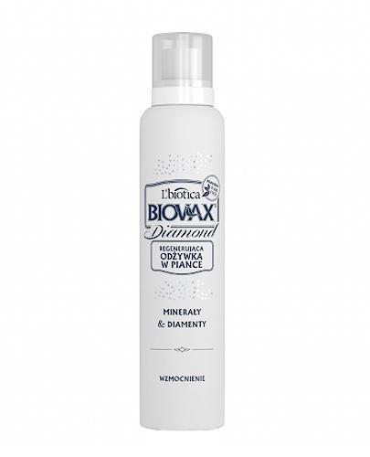 BIOVAX DIAMOND Regenerująca odżywka w piance WZMOCNIENIE - 150 ml - Apteka internetowa Melissa