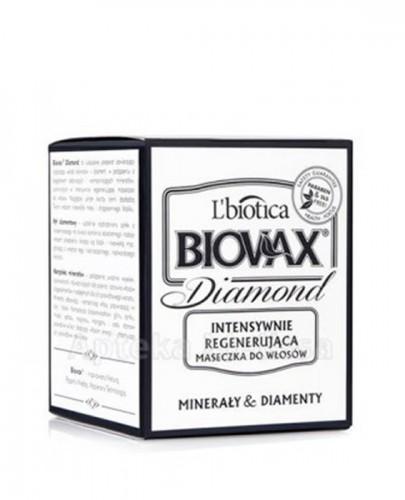 BIOVAX GLAMOUR DIAMOND Intensywnie regenerująca maseczka do włosów - 125 ml - Apteka internetowa Melissa