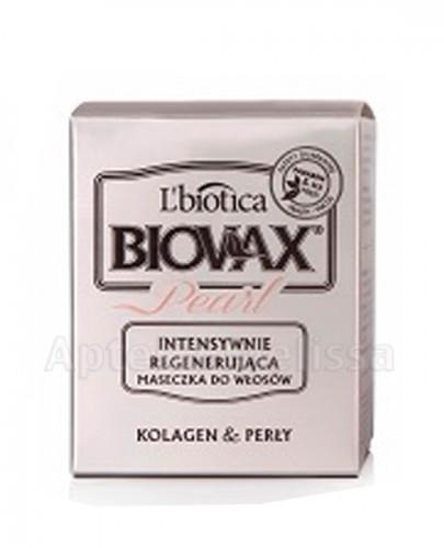 BIOVAX GLAMOUR PEARL Intensywnie regenerująca maseczka do włosów - 125 ml  - Apteka internetowa Melissa