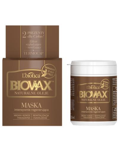 BIOVAX NATURALNE OLEJE Intensywnie regenerująca maseczka - 250 ml - Drogeria Melissa