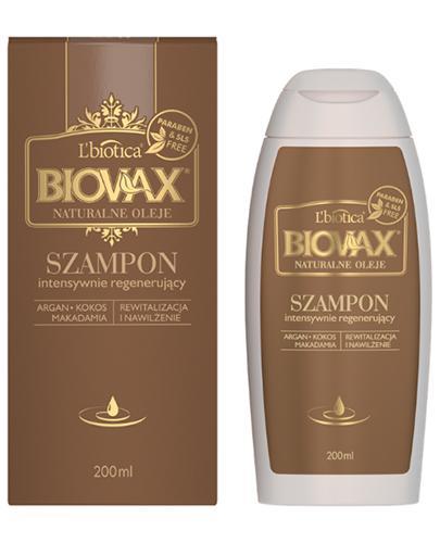 BIOVAX NATURALNE OLEJE Intensywnie regenerujący szampon - 200 ml - Drogeria Melissa