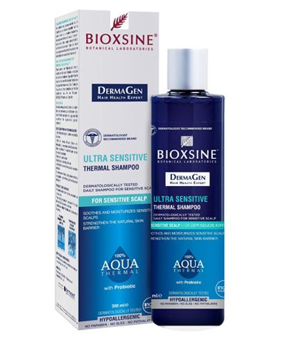 BIOXSINE DERMAGEN AQUA THERMAL Szampon do skóry wrażliwej  - 300 ml - cena, opinie, stosowanie - Drogeria Melissa