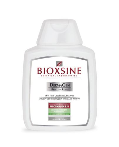 BIOXSINE Ziołowy szampon przeciw wypadaniu włosów tłustych - 300 ml - Apteka internetowa Melissa