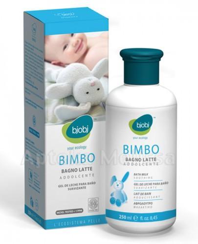 BJOBJ BIMBO Delikatne mleczko do kąpieli niemowląt i dzieci - 250 ml - Apteka internetowa Melissa