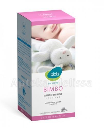 BJOBJ BIMBO Skrobia ryżowa do łagodzącej kąpieli dla niemowląt i dzieci - 400 g - Apteka internetowa Melissa