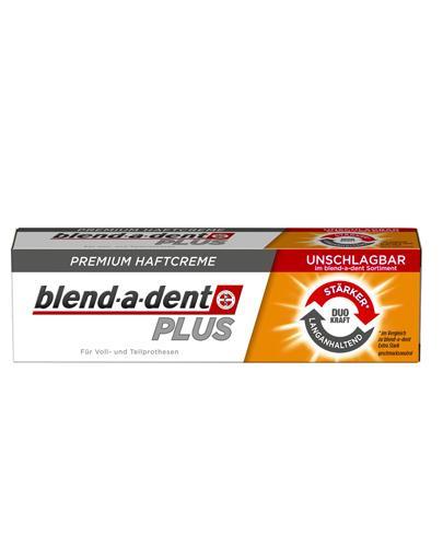 BLEND-A-DENT PLUS DUAL POWER Klej do protez - 40 g - Apteka internetowa Melissa
