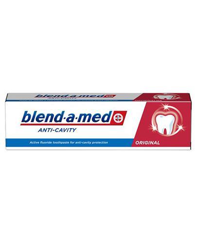 Blend-a-med Pasta do zębów Anti-Cavity Oryginal - 100 ml - cena, opinie, stosowanie - Apteka internetowa Melissa