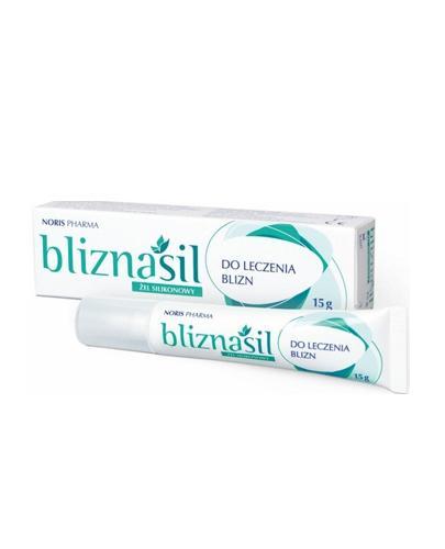 BLIZNASIL Żel silikonowy do leczenia blizn - 15 g - Apteka internetowa Melissa