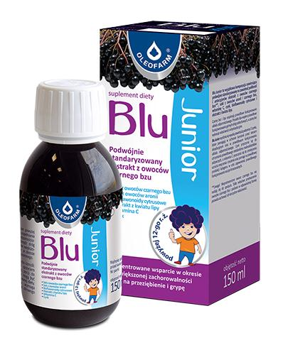 BLU JUNIOR Syrop - 150 ml - Drogeria Melissa