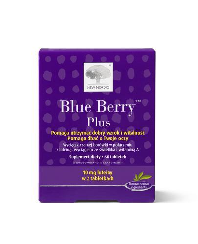 BLUE BERRY PLUS - 60 tabl. - Apteka internetowa Melissa