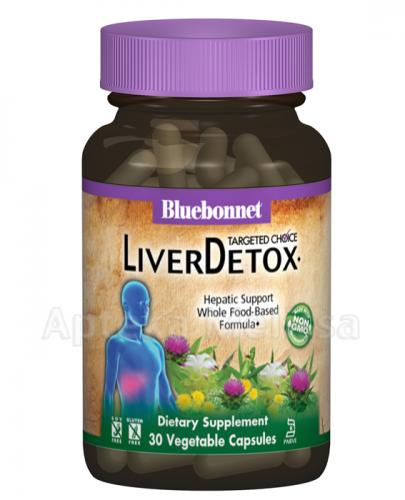 BLUEBONNET NUTRITION Targeted Choice Liver Detox, formuła wspomagająca oczyszczanie wątroby - 30 kaps. - Apteka internetowa Melissa