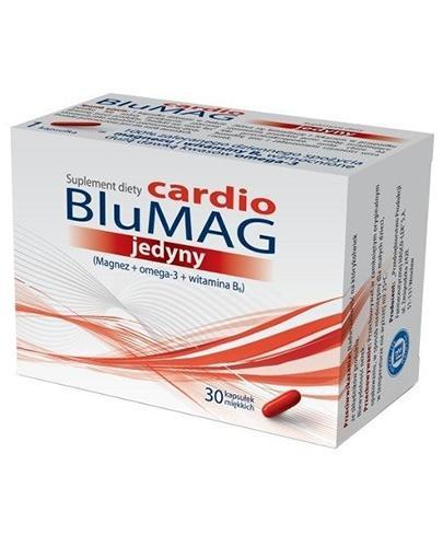 BLUMAG cardio jedyny - 30 kaps. - cena, opinie, wskazania - Apteka internetowa Melissa