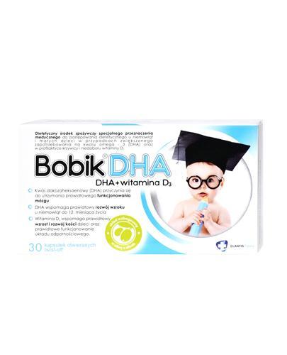BOBIK DHA twist-off - 30 kaps. Data ważności 2021.03.31 - Apteka internetowa Melissa