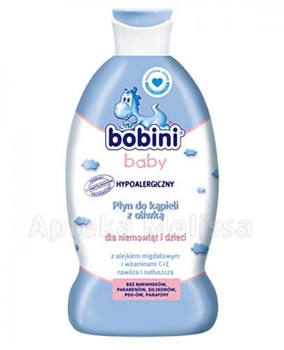 BOBINI Baby Płyn do kąpieli z oliwką 400 ml
