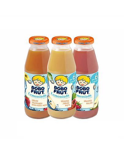 Bobo Frut Lemoniada - 3 x 300 ml Dla niemowląt po. 6 miesiącu życia - cena, opinie, właściwości