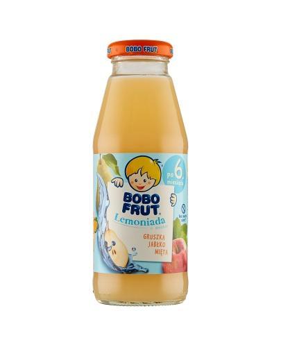 Bobo frut Lemoniada o smaku gruszka, jabłko, mięta - 300 ml - cena, opinie, właściwości