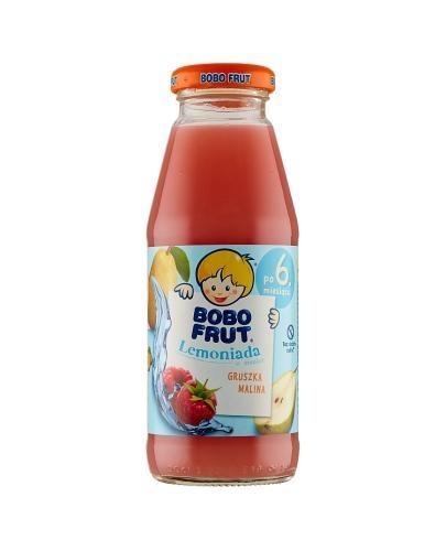 Bobo frut Lemoniada o smaku gruszka, malina - 300 ml - cena, opinie, właściwości  - Drogeria Melissa