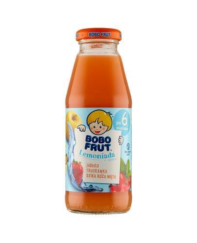 Bobo frut Lemoniada o smaku jabłko, truskawka, dzika róża, mięta - 300 ml - cena, opinie, właściwości
