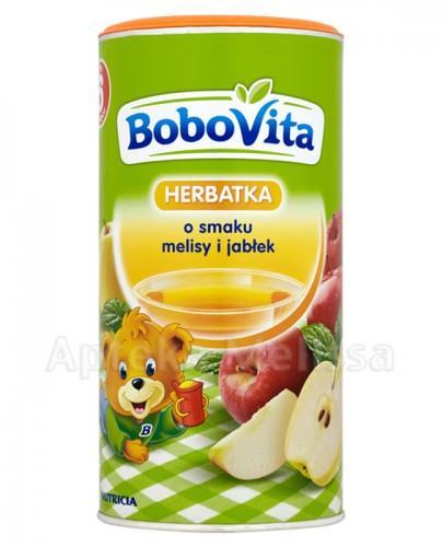 BOBOVITA Herbatka o smaku melisy i jabłek po 6 m-cu - 200 ml - Apteka internetowa Melissa