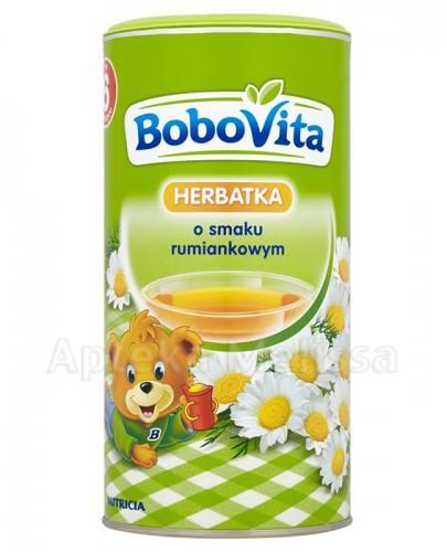BOBOVITA Herbatka o smaku rumiankowym po 6 miesiącu - 200 g Data ważności: 2016.10.30