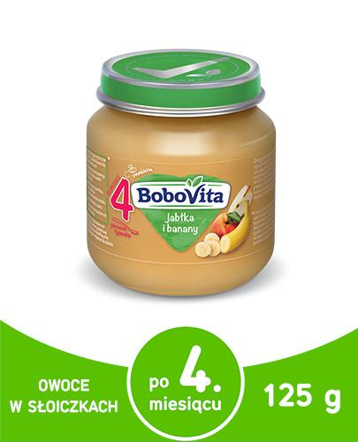 BOBOVITA Jabłka i banany po 4 m-cu - 125 g - Apteka internetowa Melissa