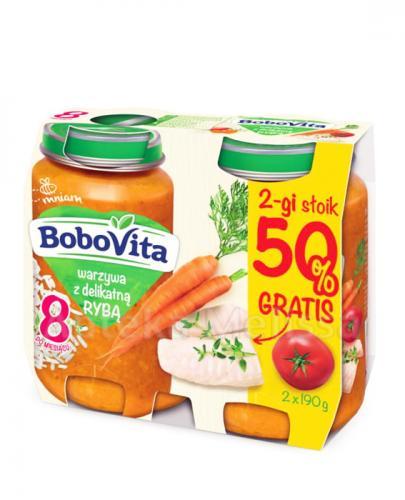 BOBOVITA Warzywa z delikatną rybą po 8 m-cu - 2 x 190 g