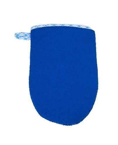 BOCIOLAND Rękawica myjka kąpielowa niebieska - 1 szt. - Apteka internetowa Melissa