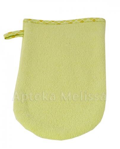 BOCIOLAND Rękawica myjka kąpielowa zielona - 1 szt. - Apteka internetowa Melissa