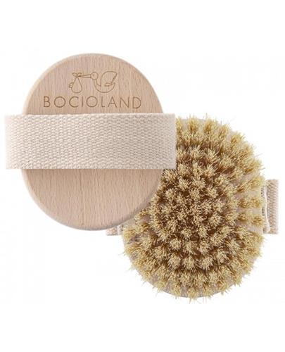 Bocioland Drewniana szczotka do masażu ciała - 1 szt. - cena, opinie, właściwości - Apteka internetowa Melissa