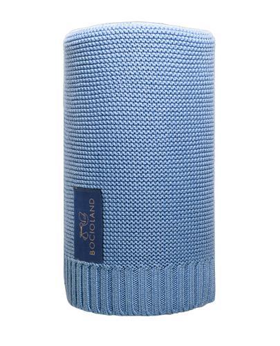 BOCIOLAND Kocyk bambusowy 80x100 cm, kolor niebieski - 1 szt. - cena, opinie, użytkowanie