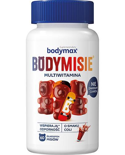 Bodymax Bodymisie żelki o smaku coli - 60 szt. Na odporność - cena, opinie, właściwości - Drogeria Melissa