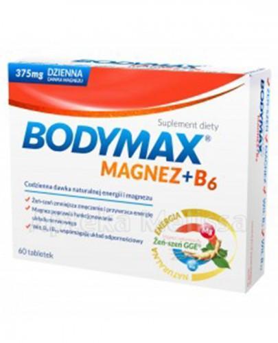 BODYMAX MAGNEZ + B6 - 60 tabl. - Apteka internetowa Melissa