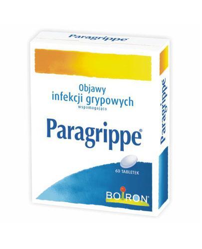BOIRON Paragrippe - 60 tabl. - łagodzi objawy infekcji grypowych - cena, właściwości, opinie  - Apteka internetowa Melissa