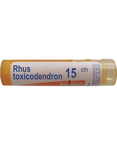 BOIRON Rhus toxicodendron 15CH gran. - 4 g - Apteka internetowa Melissa