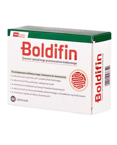 Boldifin - 60 kaps. - Zespół jelita drażliwego Data ważności 2021.07.31 - Apteka internetowa Melissa