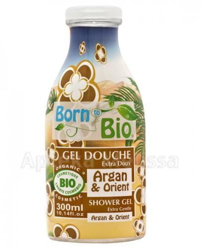 BORN TO BIO Żel pod prysznic argan & orient - 300 ml - Apteka internetowa Melissa