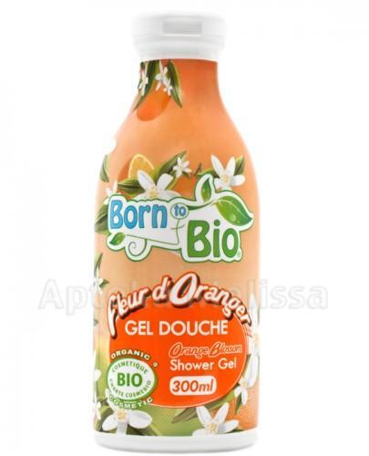 BORN TO BIO Żel pod prysznic kwiat pomarańczy - 300 ml - Apteka internetowa Melissa