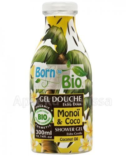 BORN TO BIO Żel pod prysznic monoi i kokos - 300 ml - Apteka internetowa Melissa