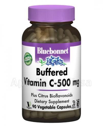 BLUEBONNET NUTRITION Witamina C 500 mg z bioflawonoidami cytrusowymi, hesperydyną oraz rutyną - 90 kaps. - Apteka internetowa Melissa