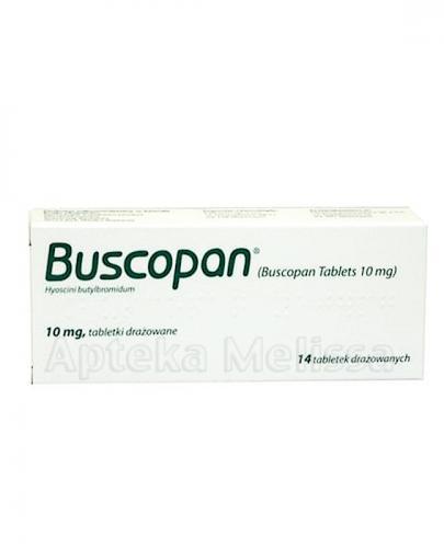 BUSCOPAN 10 mg - 14 tabl. - Apteka internetowa Melissa