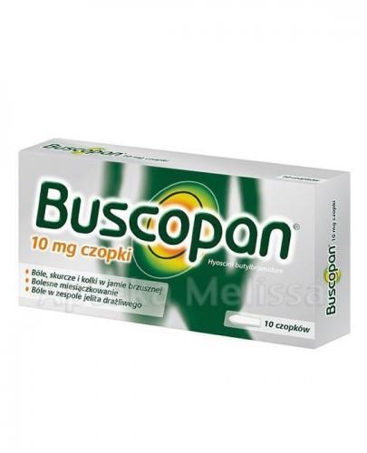 BUSCOPAN 10 mg - 10 czop.