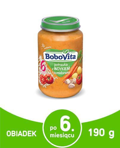 BOBOVITA Potrawka z indykiem i pomidorami - 190 g