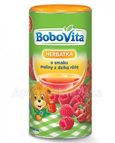 BOBOVITA Herbatka o smaku maliny z dziką różą po 6 m-cu - 200 ml - Apteka internetowa Melissa