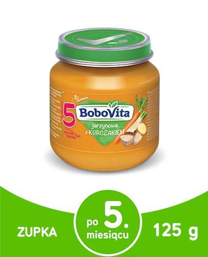 BOBOVITA Jarzynowa z kurczakiem po 5 m-cu - 125 g - Apteka internetowa Melissa