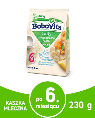BOBOVITA Kaszka mleczno-pszenna o smaku owocowym po 9 m-cu - 230 g - Apteka internetowa Melissa